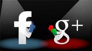 """Il bottone Google +1 contro """"Mi piace"""" di Facebook"""