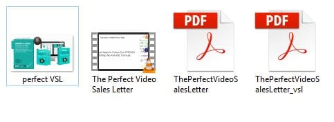 The Perfect Video Sales Letter files
