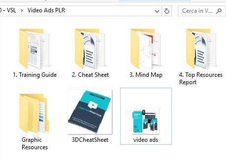 Video Ads in a Box PLR files