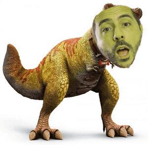 dinosauro dell'internet marketing